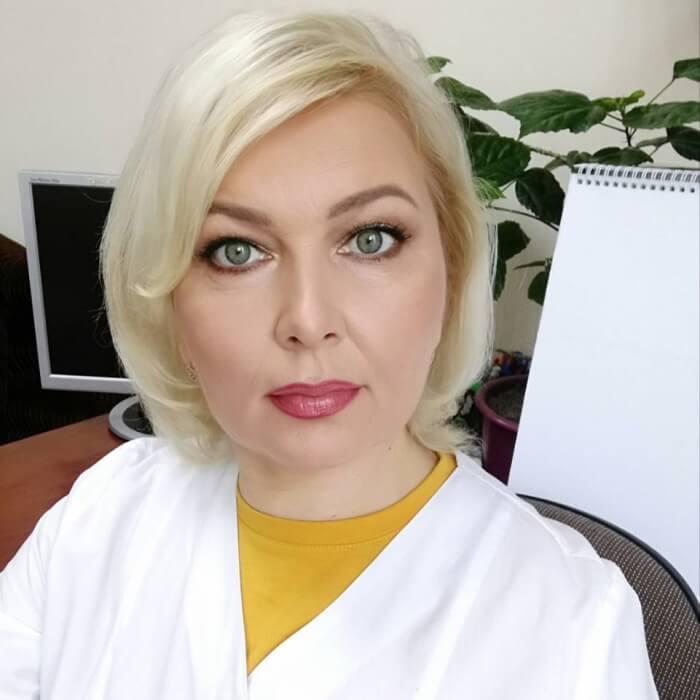 Лимар Людмила Олексіївна Завідуюча відділення променевої терапії