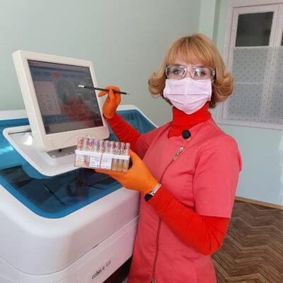 Репешко Наталія ВалеріївнаЗавідуюча лабораторією радіонуклідної діагностики