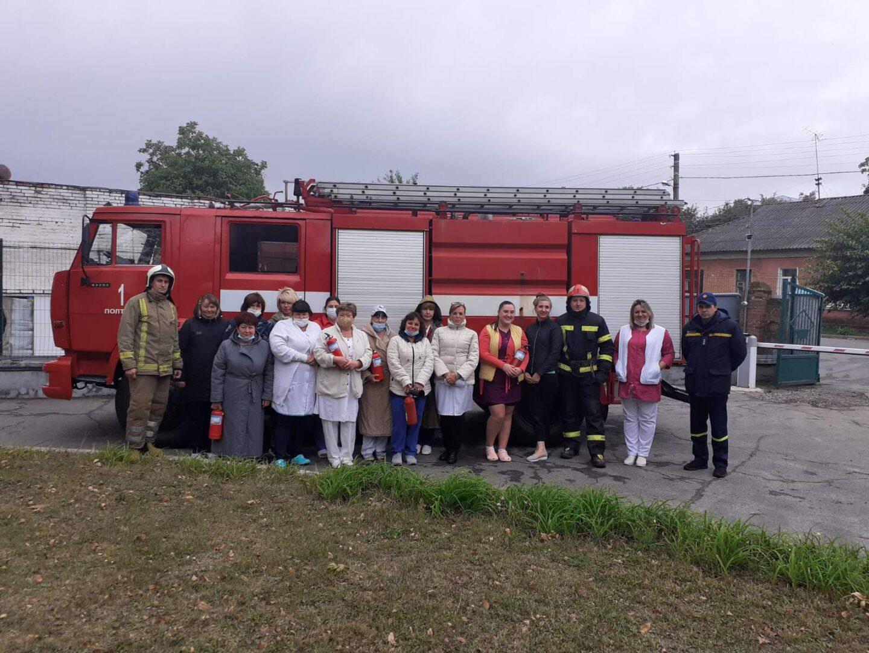 Cпільні навчання з питань пожежної безпеки